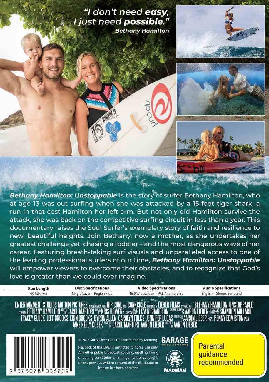 Bethany Hamilton: Unstoppable DVD