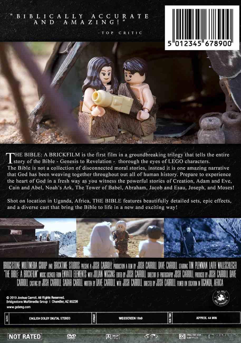 The Bible: A Brickfilm DVD