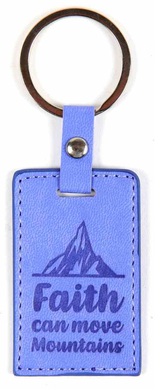 Lux Keyring: Faith Can Move Mountains Jewellery
