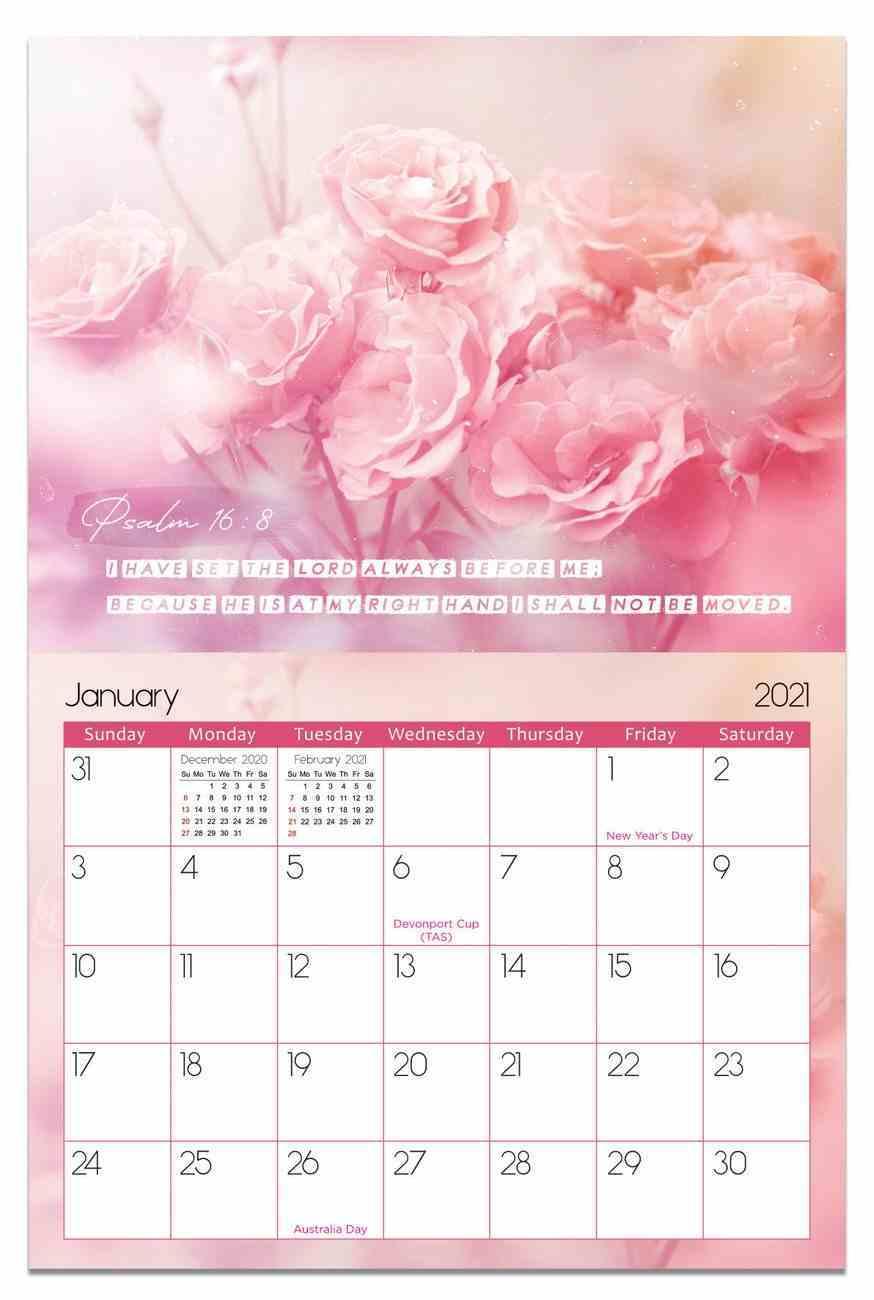 2021 Wall Calendar: Psalms From My Heart Calendar