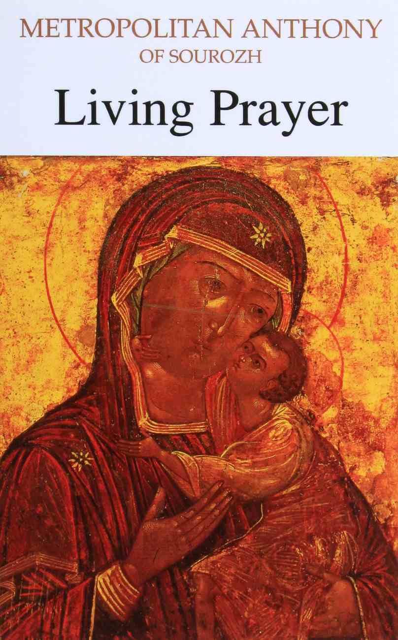 Living Prayer Paperback