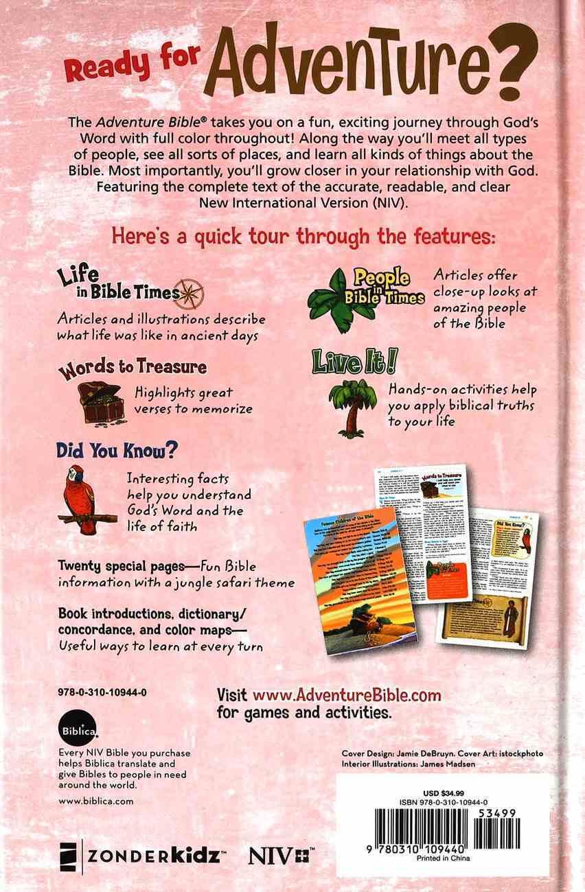 NIV Adventure Bible With Magnetic Closure Hardback