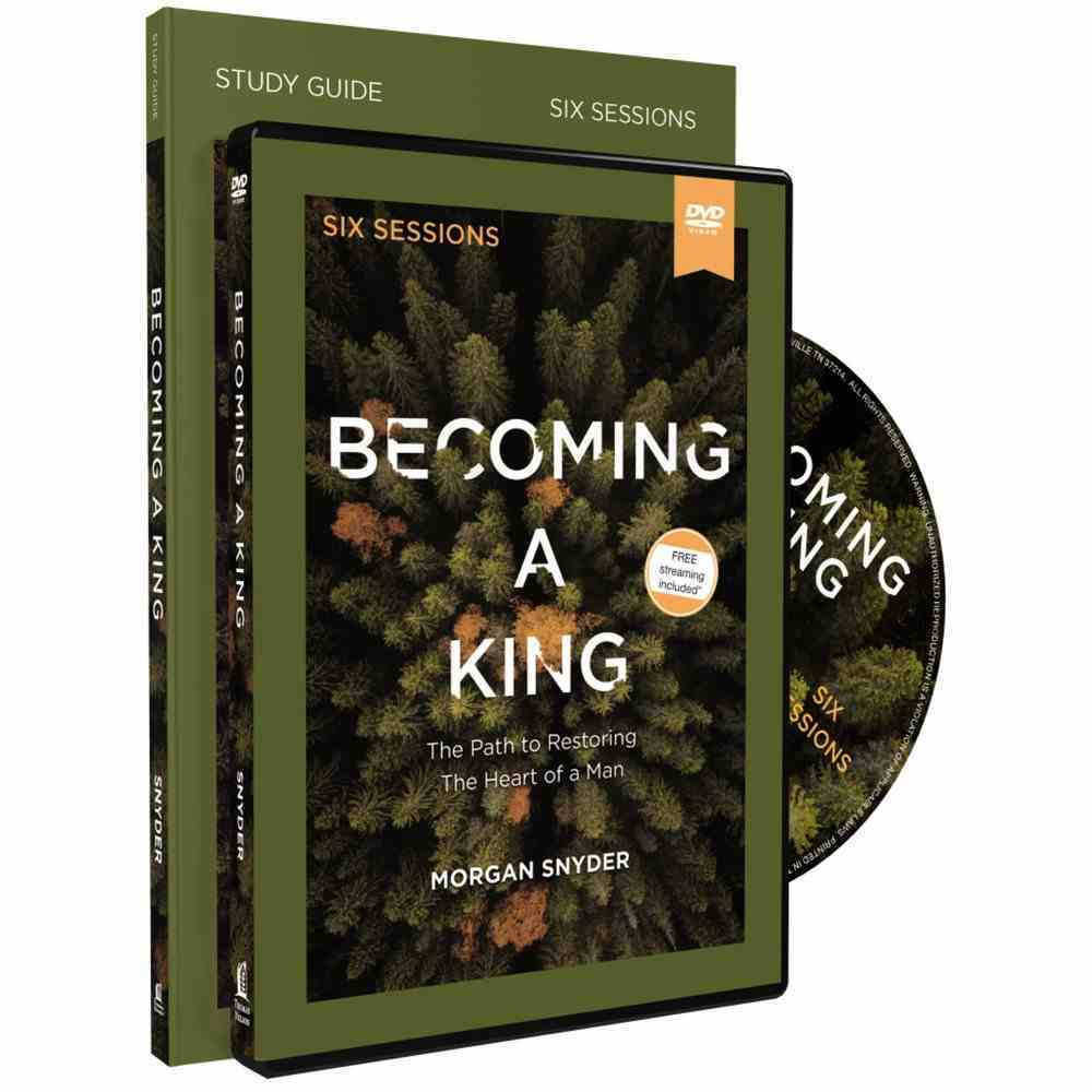 Becoming a King (Study Guide With Dvd) Pack