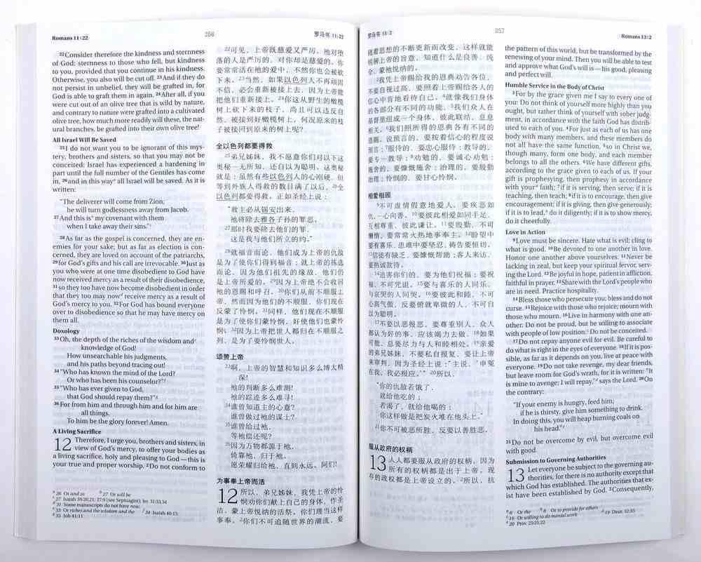Ccb/Niv Chinese/English Bilingual New Testament Paperback