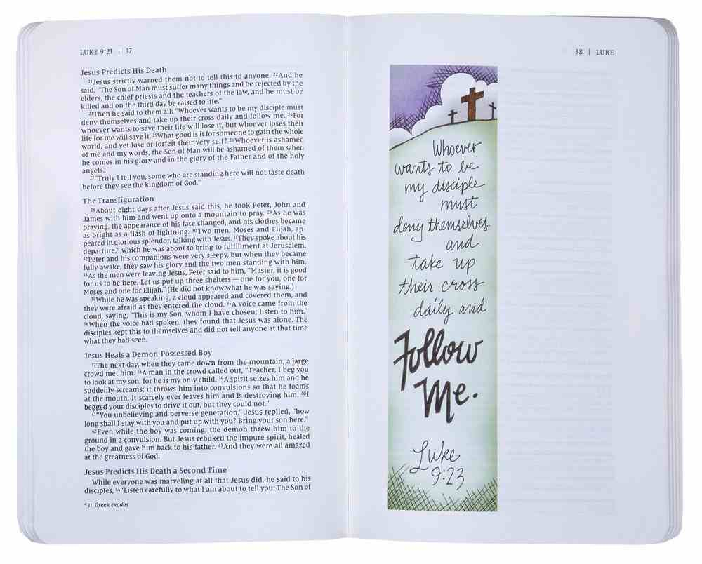 NIV Beautiful Word Bible Journal Luke Paperback