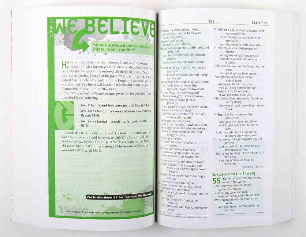 NIV Teen Study Bible (Black Letter Edition) Paperback