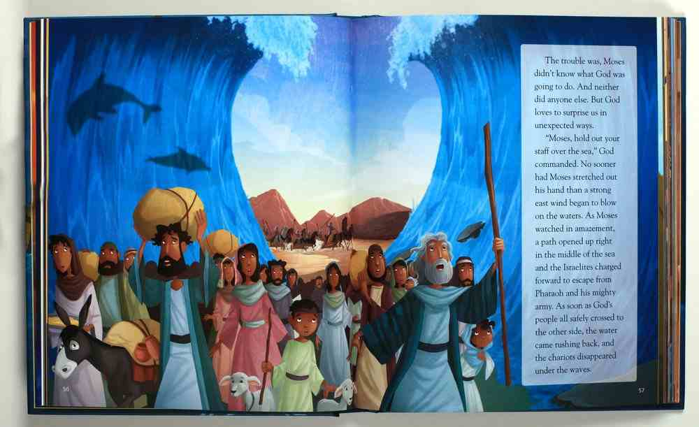 Big Dreams and Powerful Prayers Illustrated Bible: 30 Inspiring Stories From the Old and New Testament Hardback