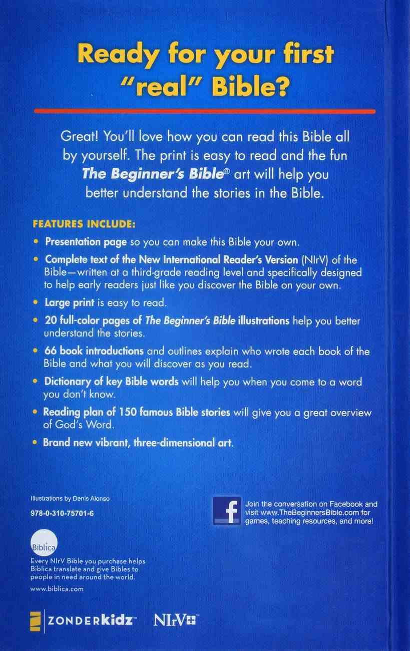 NIRV the Beginner's Bible Large Print (Black Letter Edition) Hardback