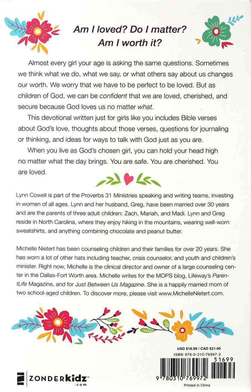 Loved and Cherished: 100 Devotions For Girls Hardback