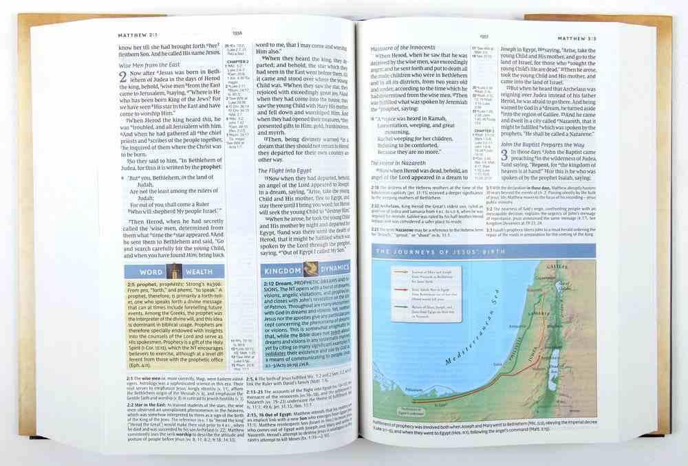NKJV Spirit-Filled Life Bible (Red Letter Edition) (Third Edition) Hardback