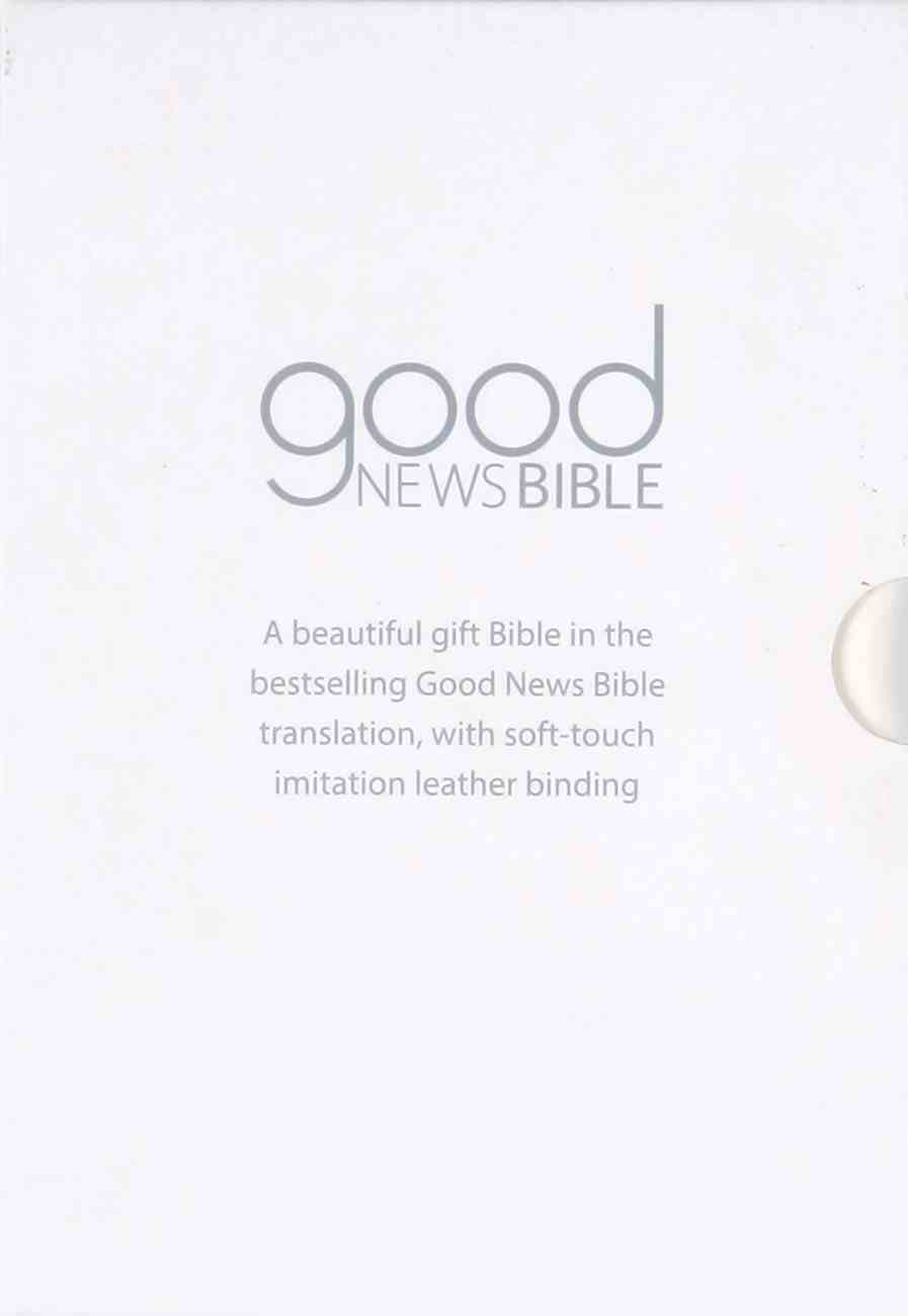 GNB Good News Bible Compact White Gift Edition (Anglicised) Imitation Leather