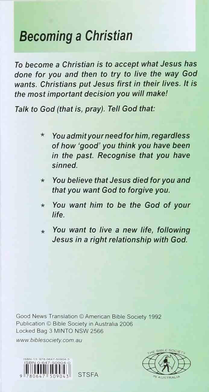 Salvation For All - God's Plan (25 Pack) Booklet