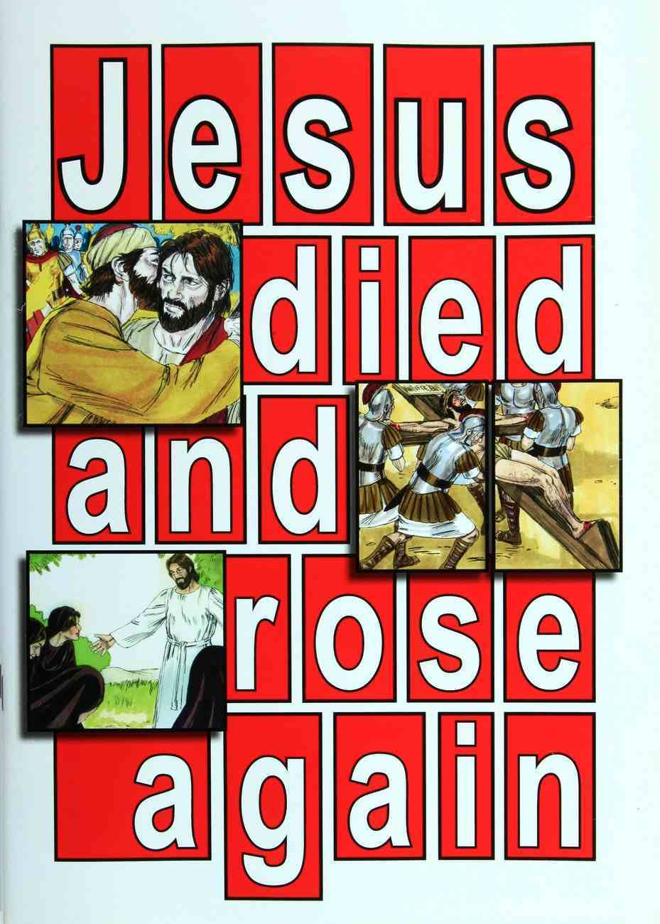 Jesus Died and Rose Again: Easter Activity Book Paperback