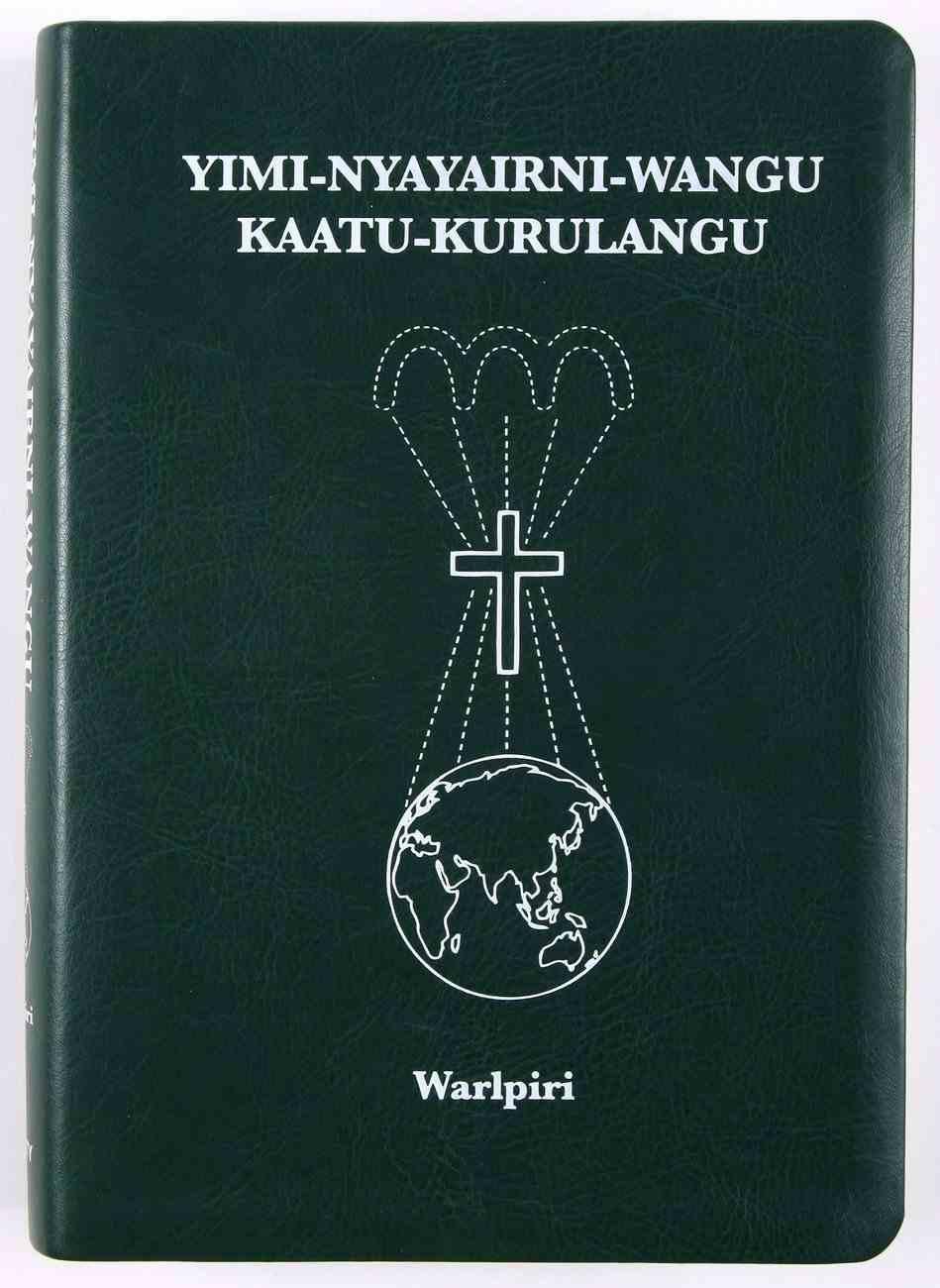 Warlpiri Bible Genuine Leather