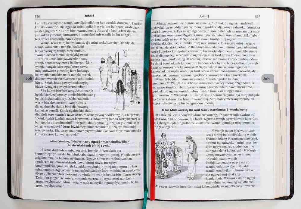 Kunwinjku God Nuya Kunwok (Shorter Bible) Imitation Leather