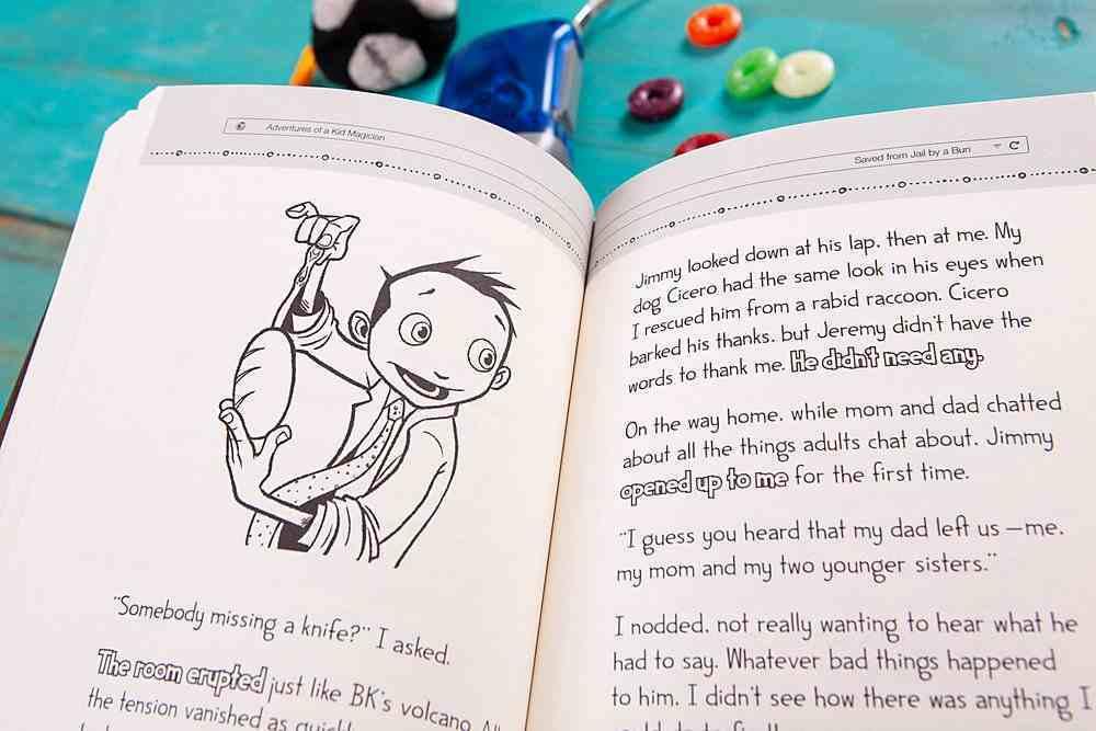 Adventures of a Kid Magician Hardback