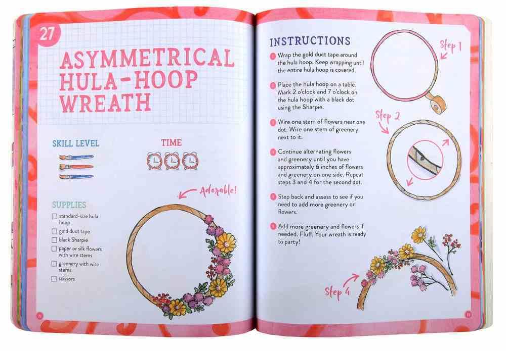 52 Diy Crafts For Girls By Karianne Wood Koorong
