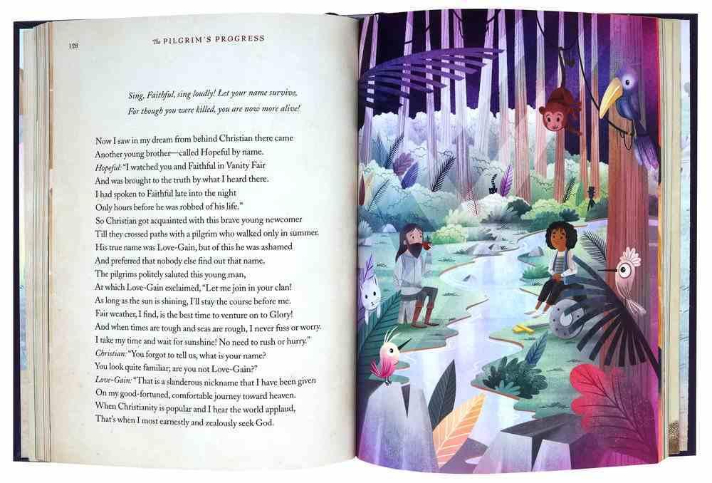 The Pilgrim's Progress: A Poetic Retelling of John Bunyan's Classic Tale Hardback