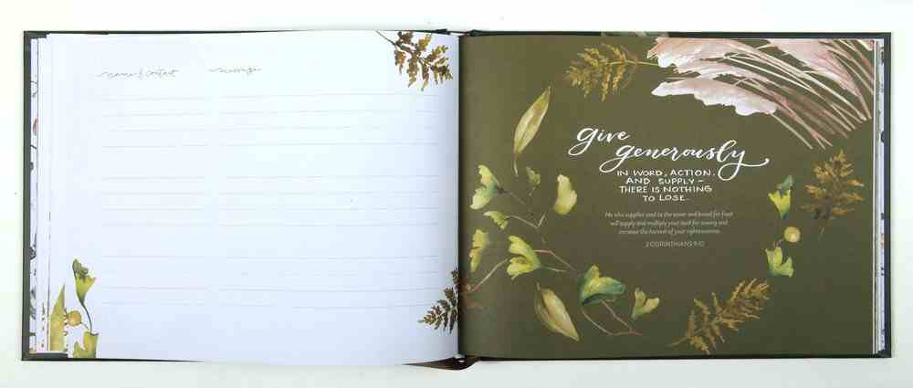 In Our Home Guestbook Hardback