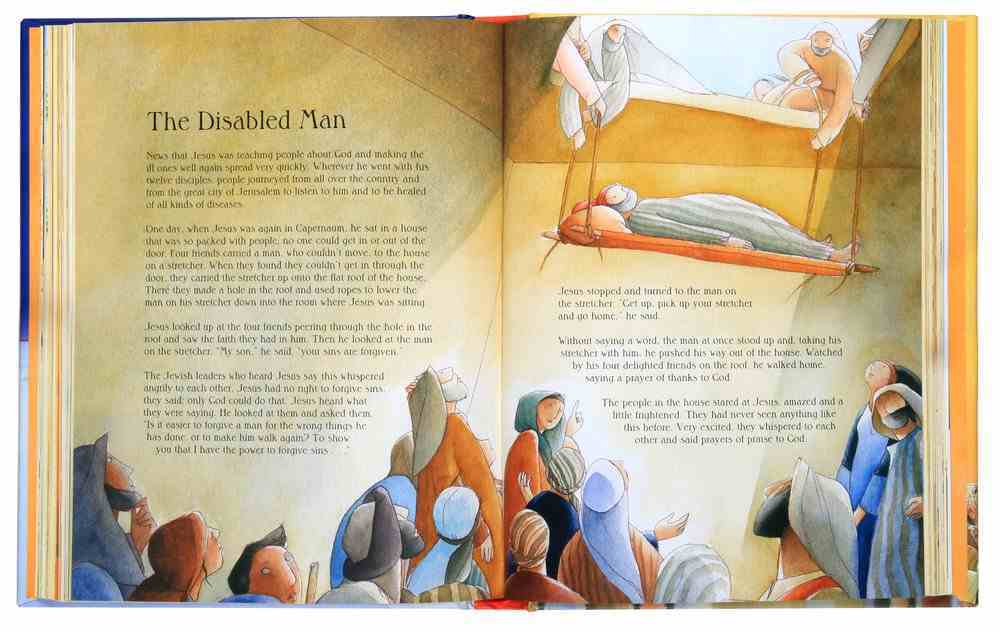 The Usborne Illustrated Children's Bible Hardback