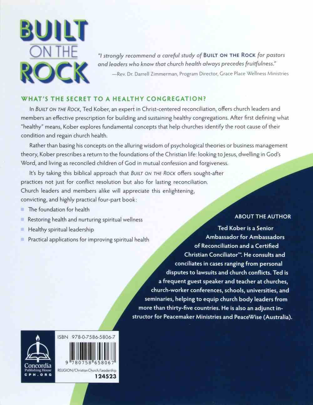 Built on the Rock: The Healthy Congregation Paperback