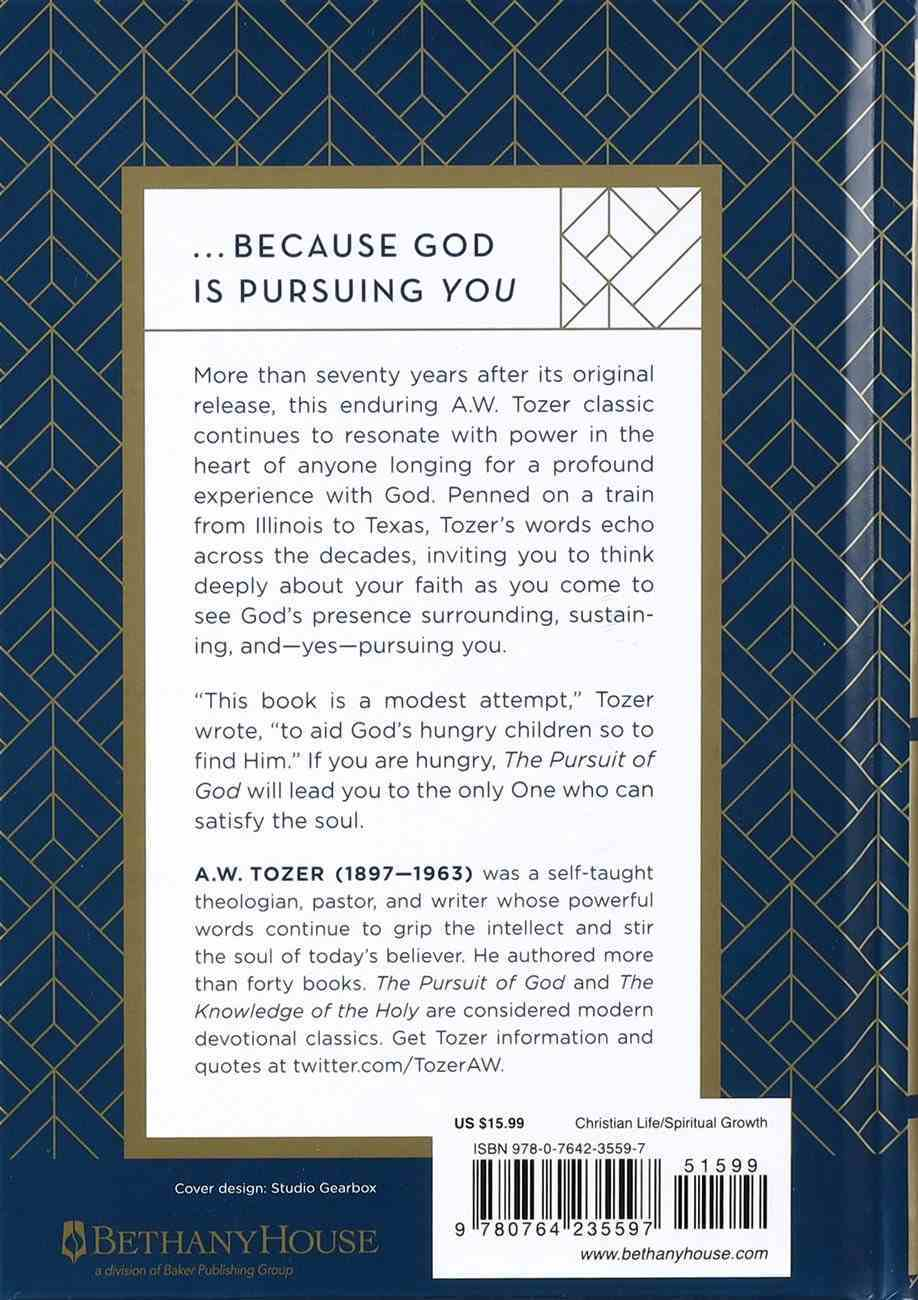 The Pursuit of God (Gift Edition) Hardback