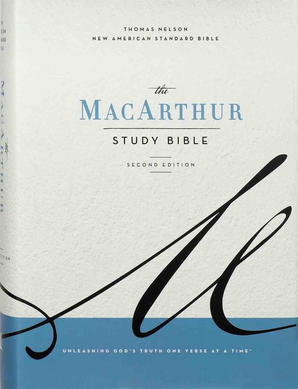 NASB Macarthur Study Bible 2nd Edition Gray Hardback