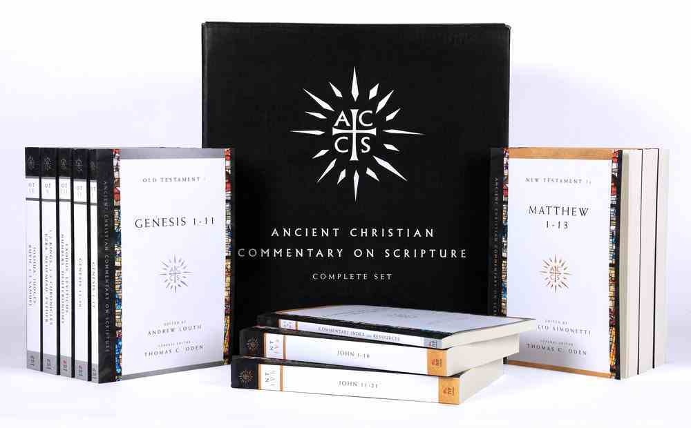 Accs: Ancient Christian Commentary on Scripture (30 Volumes) (Ancient Christian Commentary On Scripture: Old Testament Series) Paperback