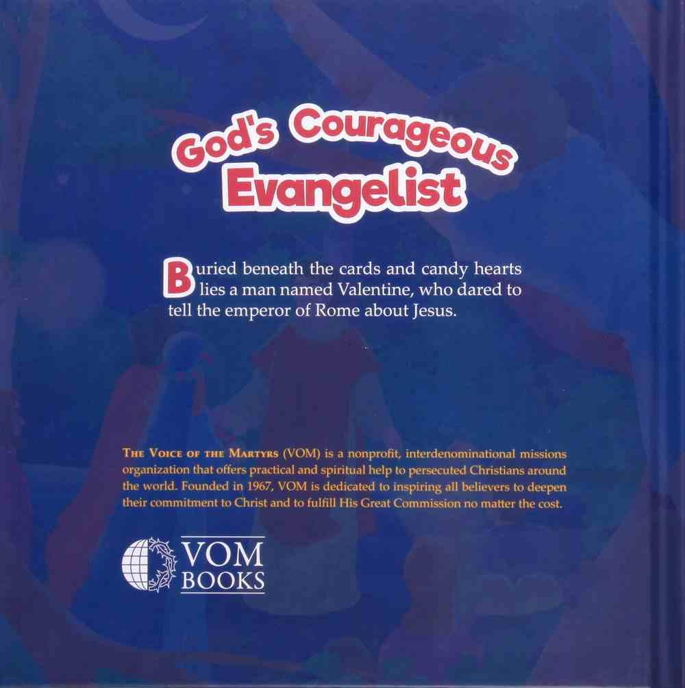 Valentine: God's Courageous Evangelist (#05 in The Courageous Kids Series) Hardback