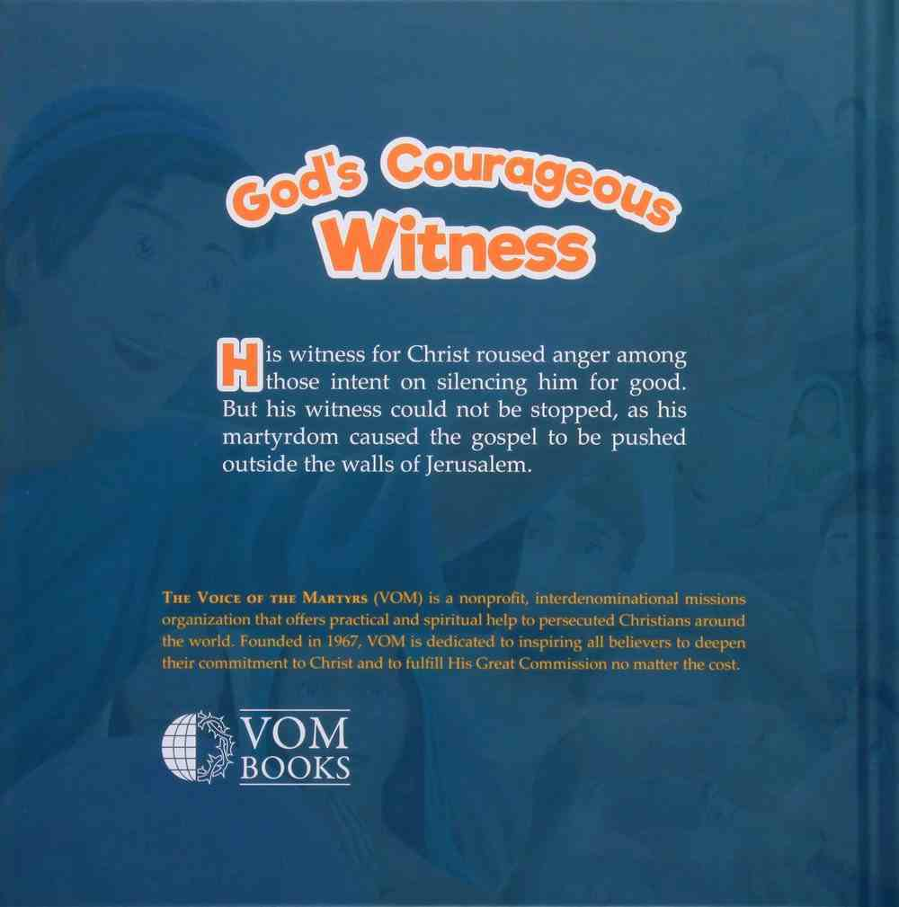 Stephen: God's Courageous Witness (#01 in The Courageous Kids Series) Hardback