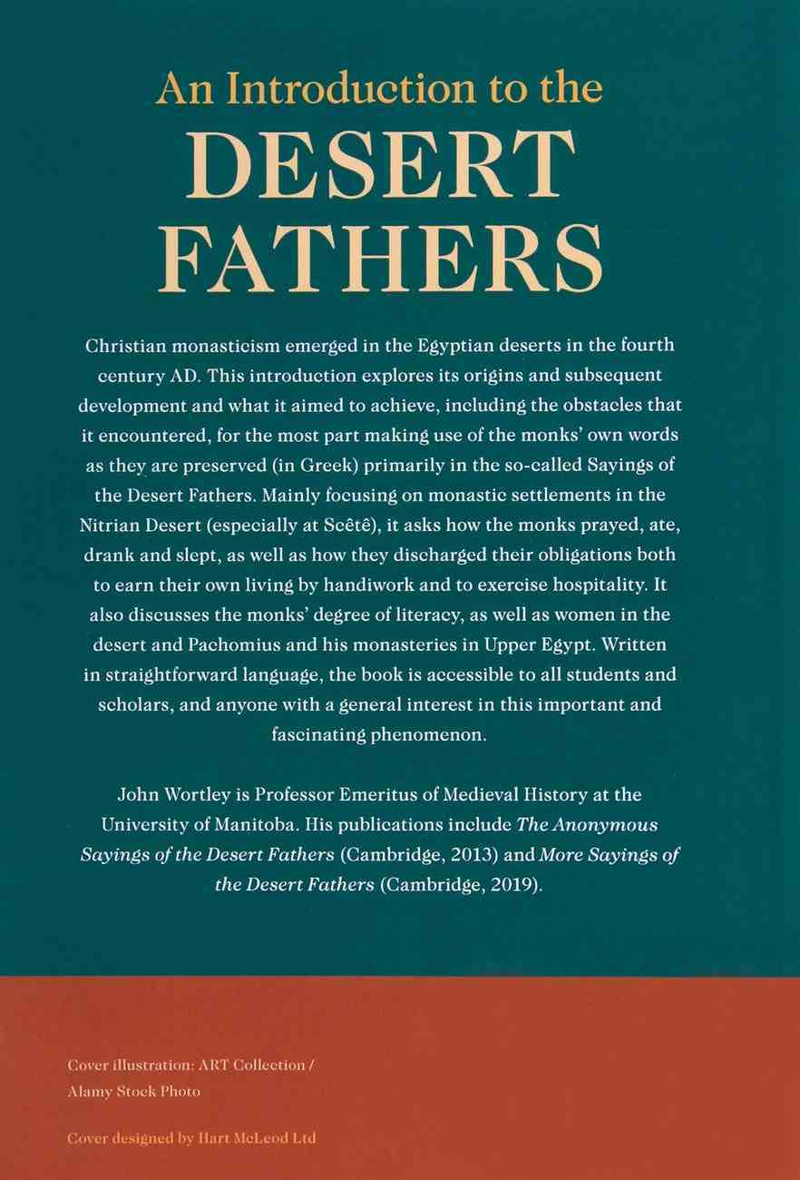An Introduction to the Desert Fathers Paperback