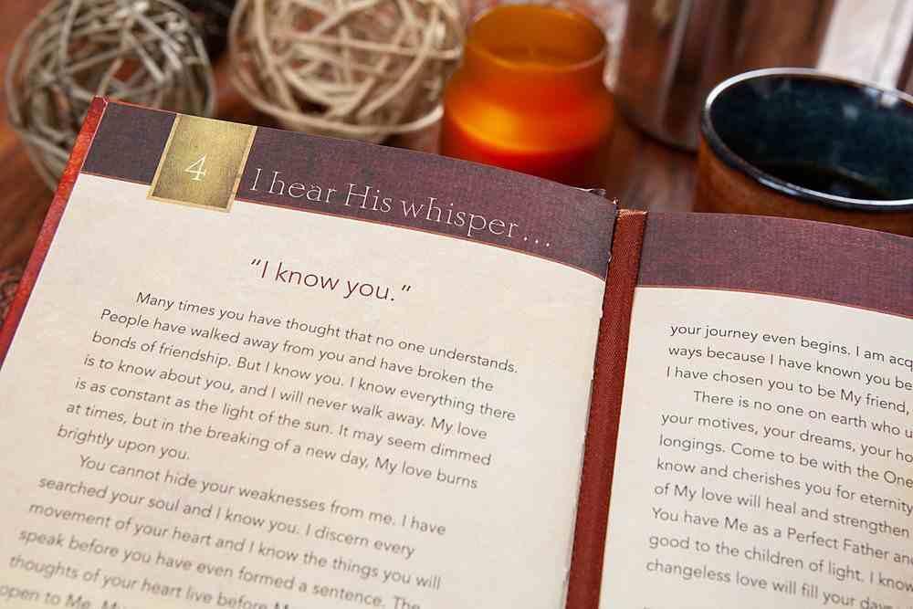 I Hear His Whisper #01: Encounter God's Heart For You. 52 Devotions Hardback