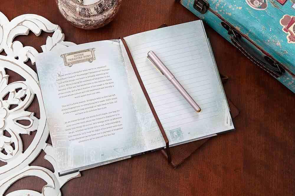 Journal: God's Splendor is a Tale That is Told Travel Journal Hardback
