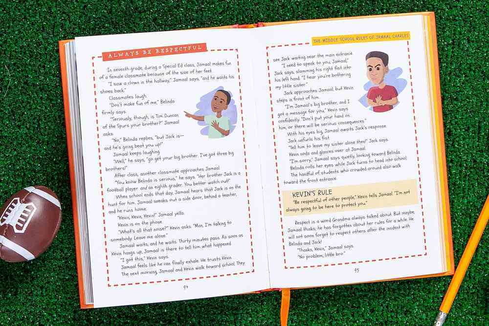 The Middle School Rules of Jamaal Charles Hardback