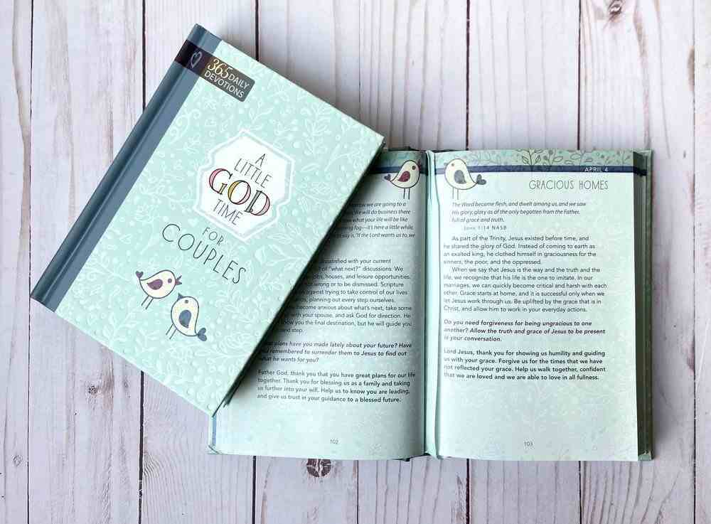 Little God Time For Couples, A: 365 Daily Devotions (365 Daily Devotions Series) Hardback