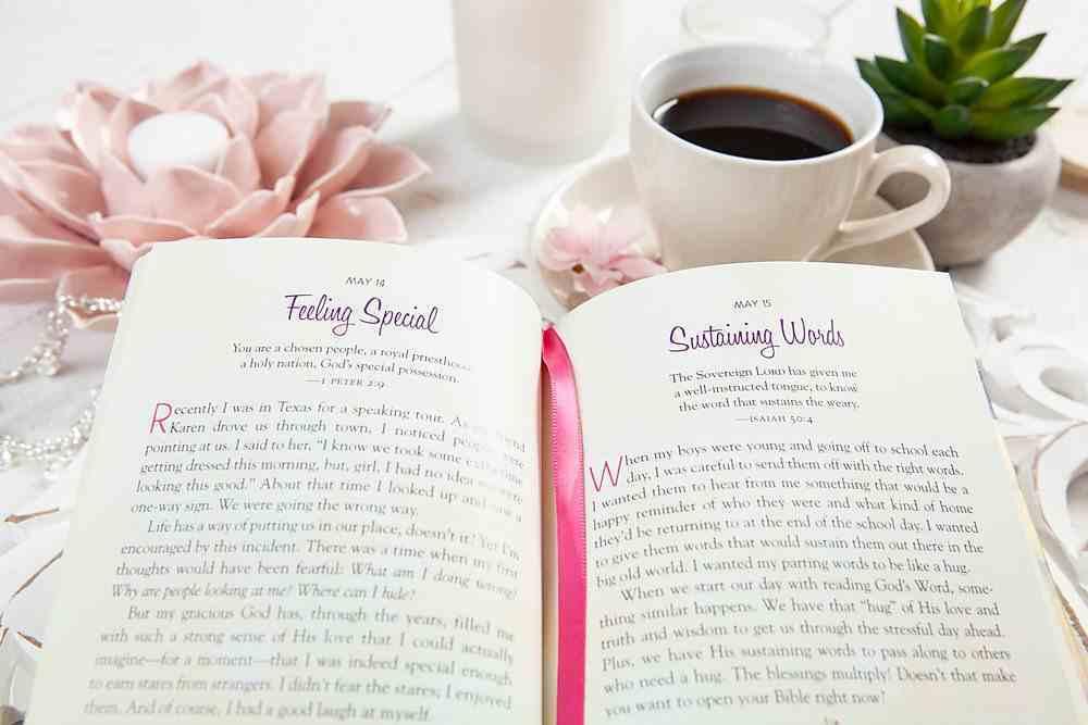 Cherished: 365 Devotions That Celebrate God's Love For You Hardback