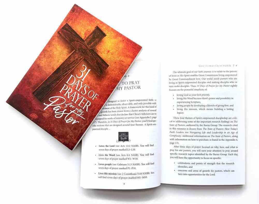 31 Days of Prayer For My Pastor Paperback