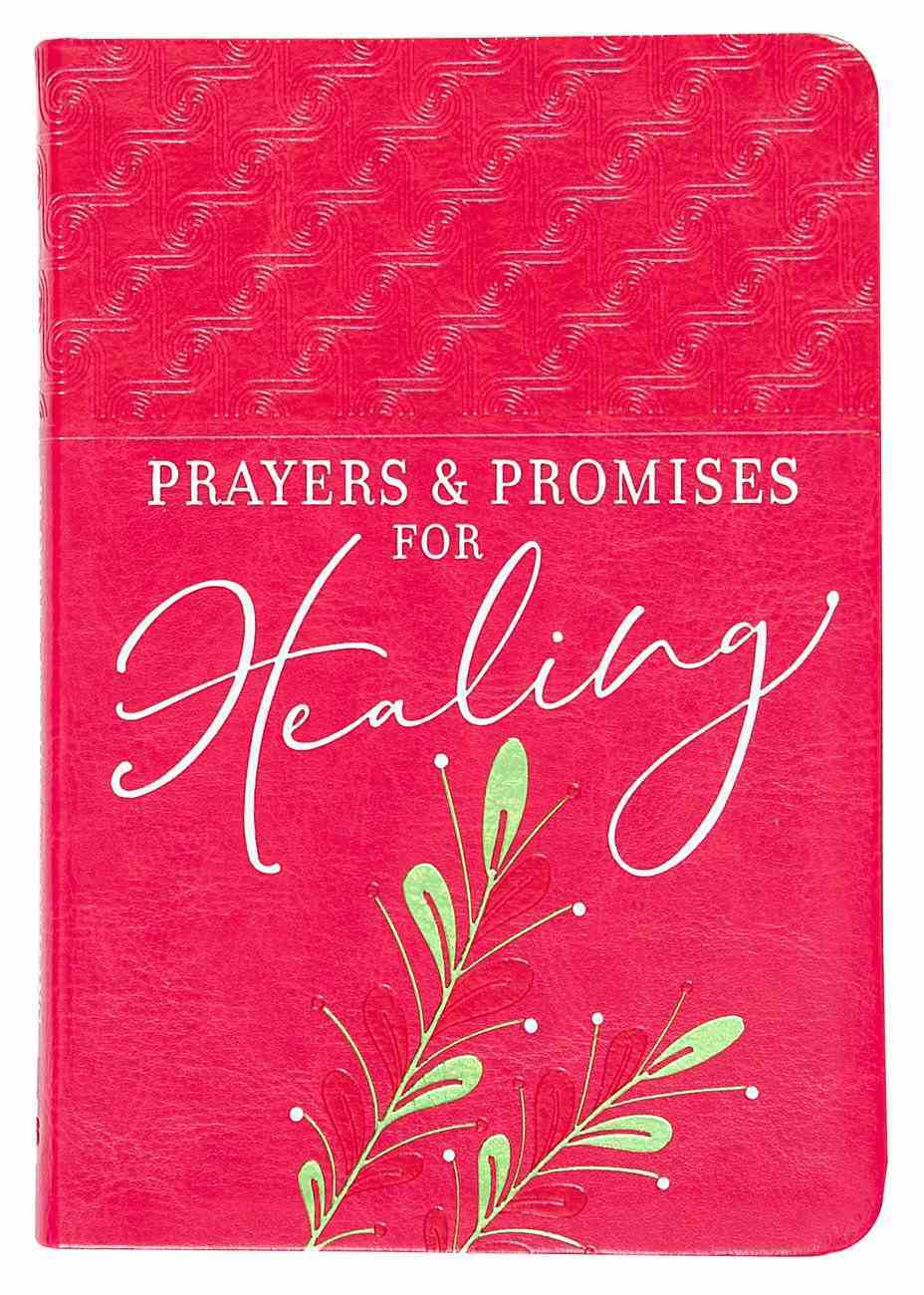 Prayers & Promises For Healing Imitation Leather
