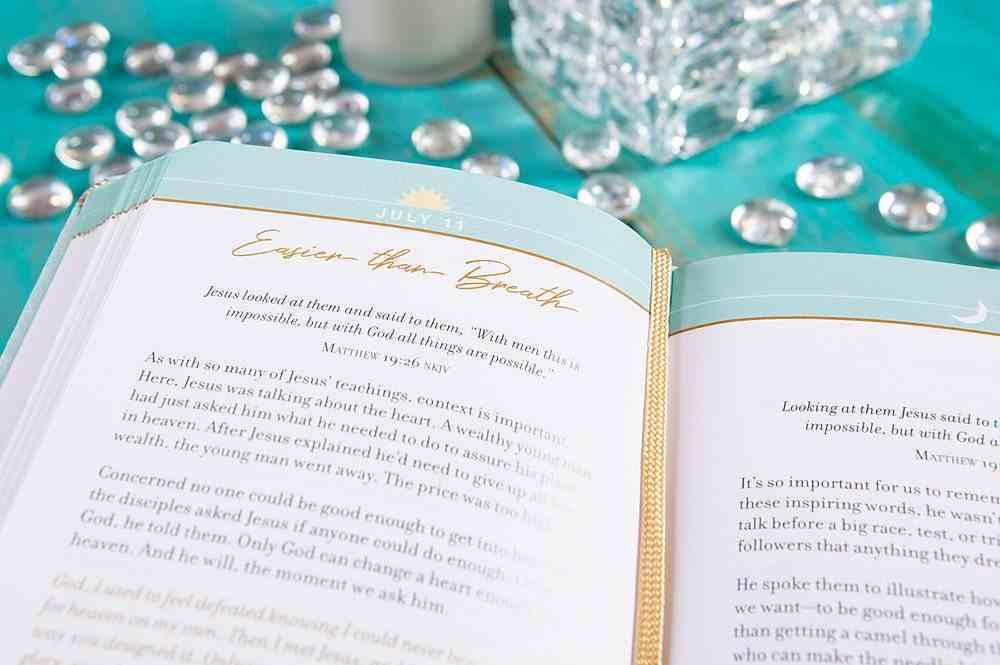 Beauty & Grace: A Morning & Evening Devotional Imitation Leather