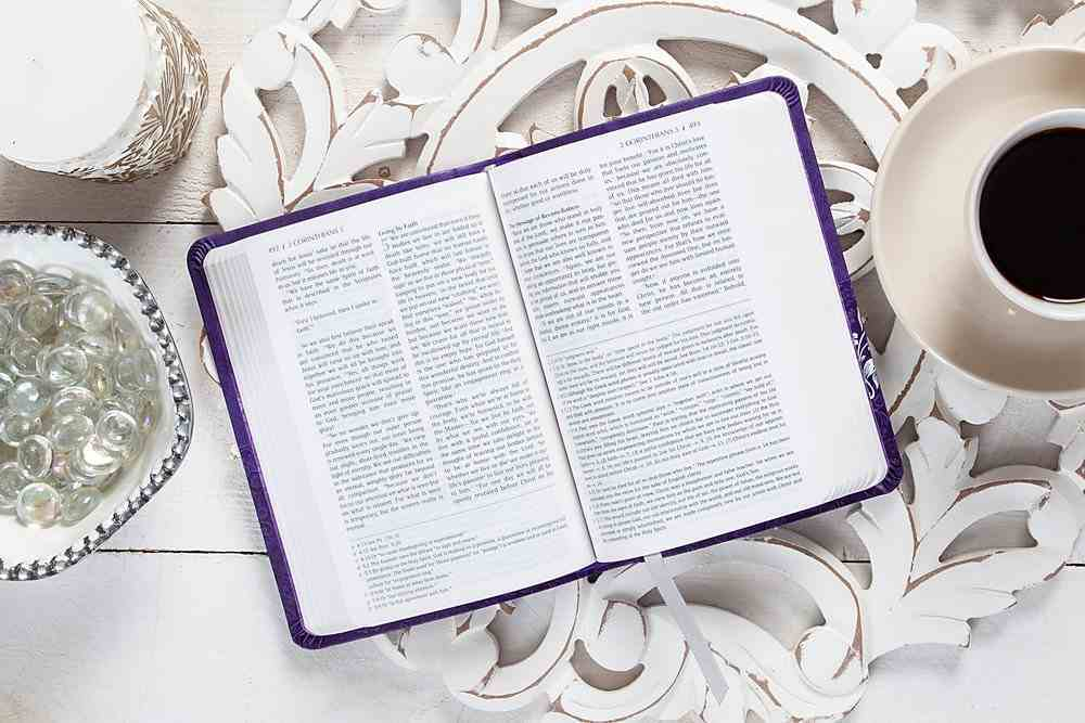 TPT New Testament Compact Violet (Black Letter Edition) (With Psalms Proverbs And Song Of Songs) Imitation Leather