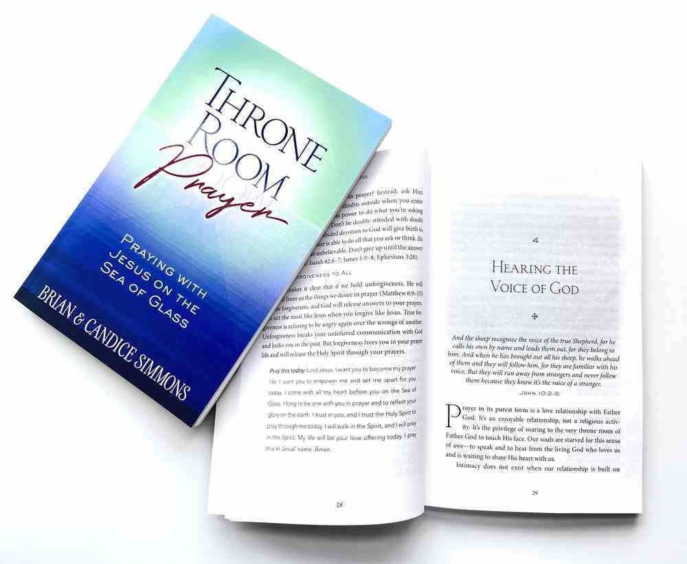 Throne Room Prayer: Praying With Jesus on the Sea of Glass Paperback