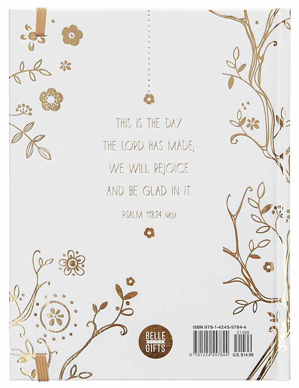 A Little God Time: A Devotional Journal (Gold/white) Hardback