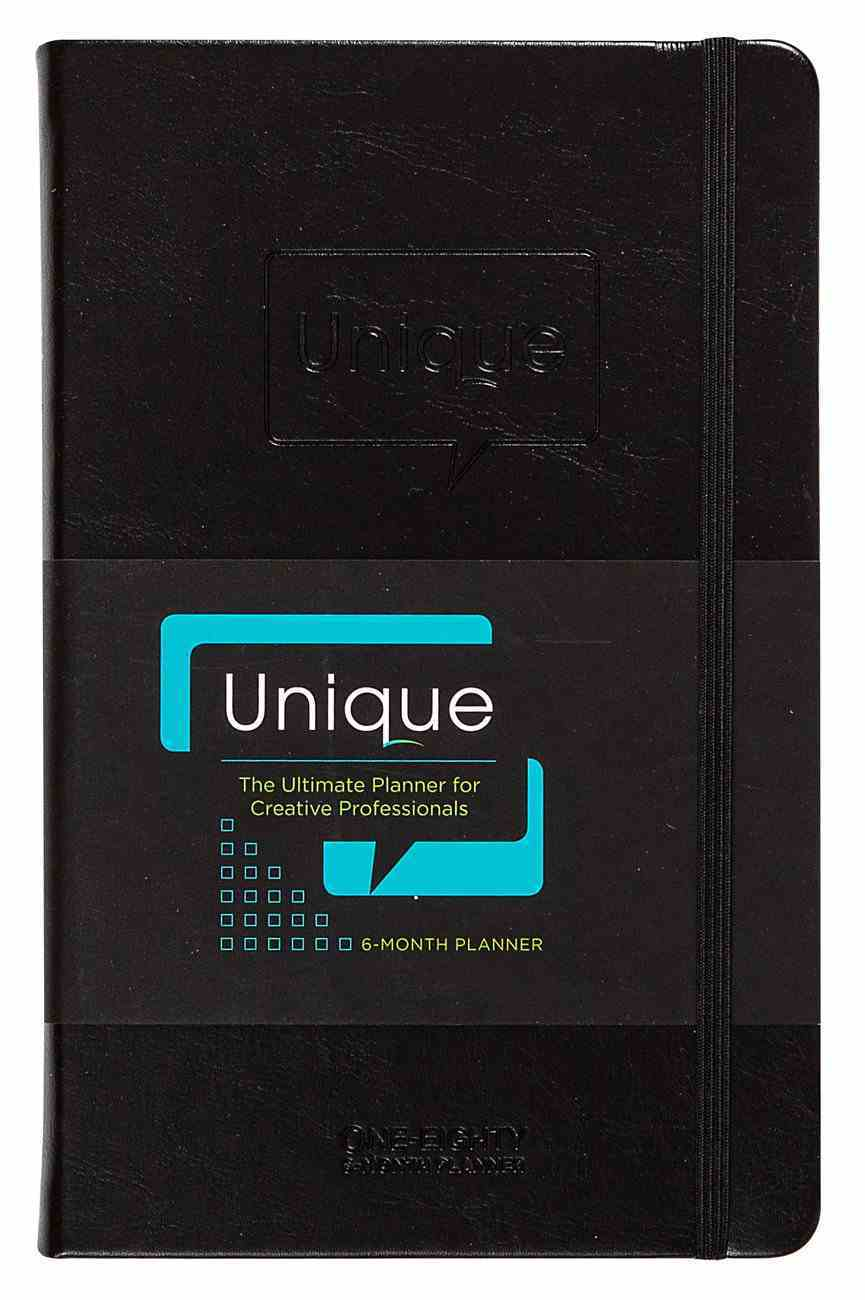 Undated 6 Month Diary/Planner: Unique: The Ultimate Planner For Creative Professionals Imitation Leather