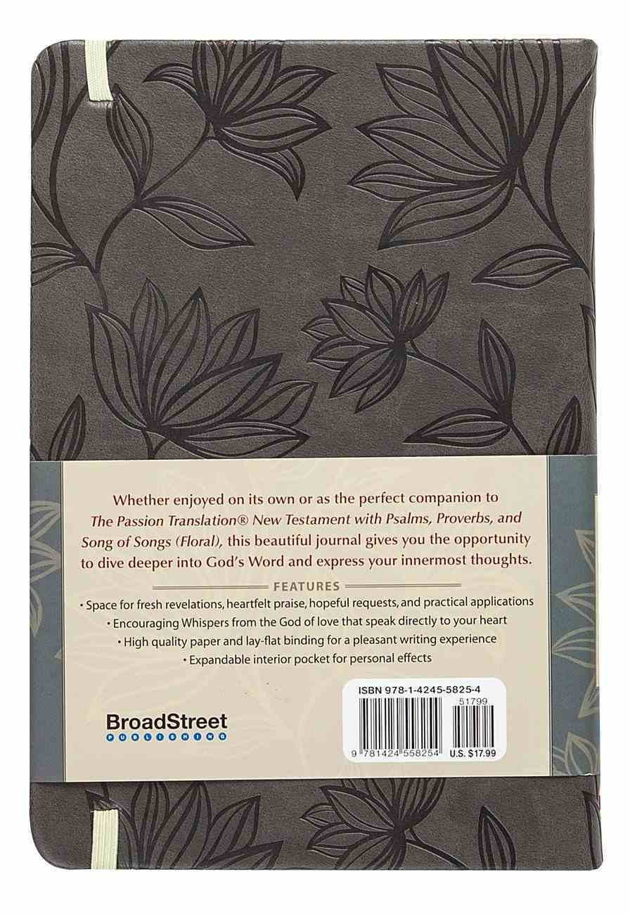 TPT Bible Study Journal Floral Imitation Leather