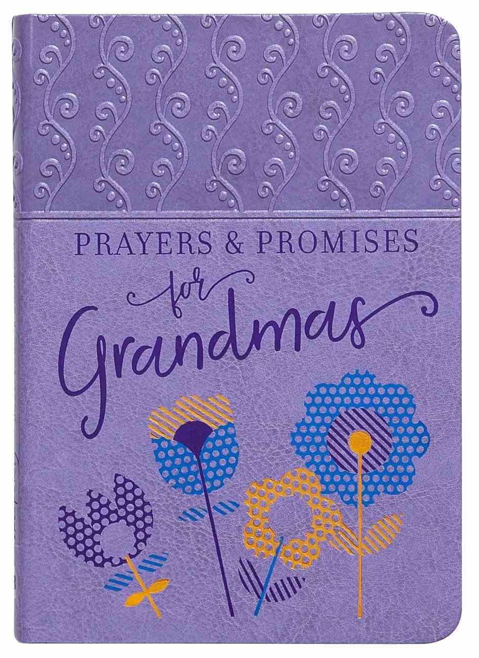 Prayers & Promises For Grandmas Imitation Leather