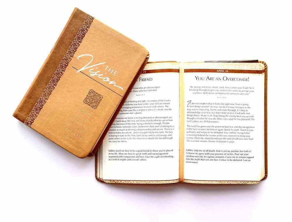 The Vision: 365 Days of Life-Giving Words From the Prophet Isaiah Imitation Leather