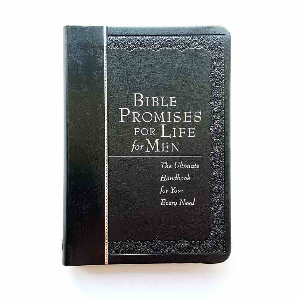 Bible Promises For Life For Men: The Ultimate Handbook For Your Every Need Imitation Leather