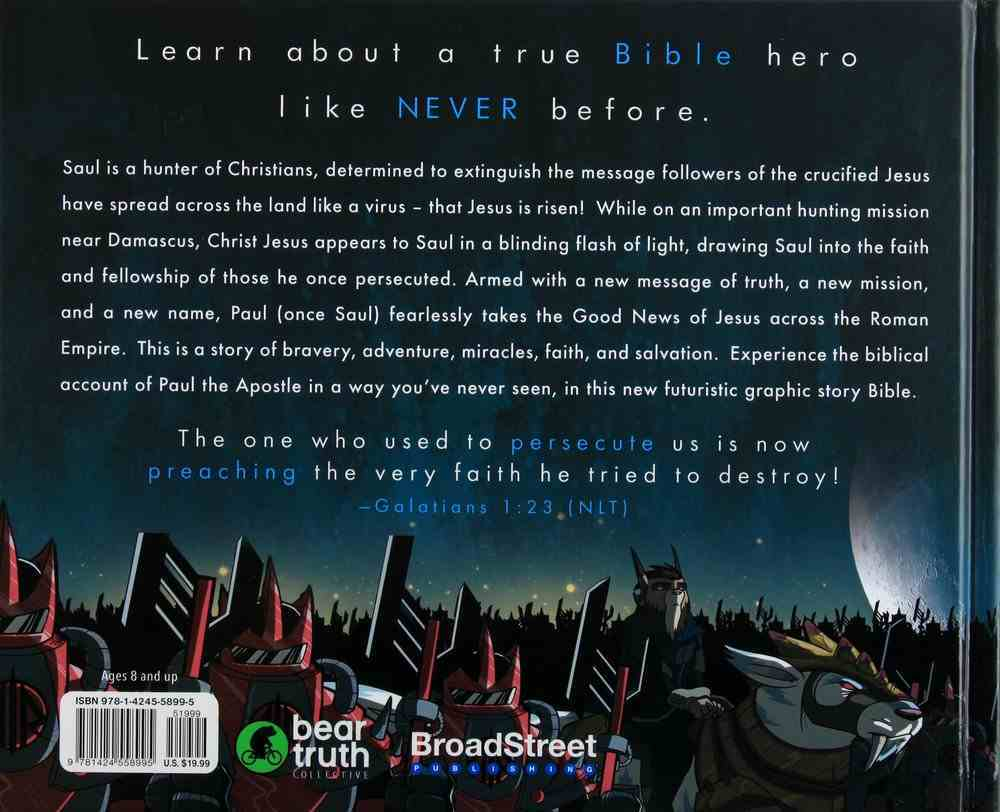 Paul the Apostle: Graphic Story Bible Hardback