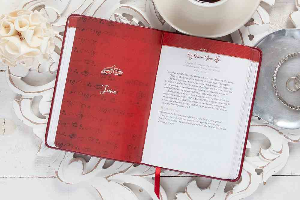 Celebrate Your Marriage: 365 Daily Devotions For Busy Couples Imitation Leather
