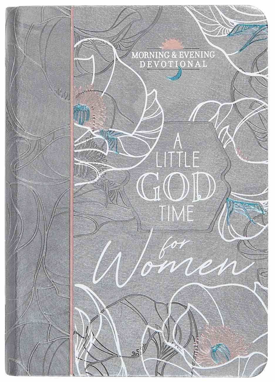 A Little God Time For Women (Morning & Evening) Imitation Leather